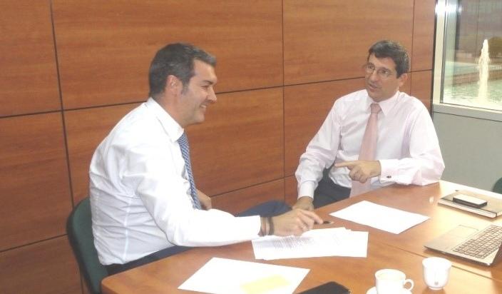 trabajando con Céras Estévez en su Portafolio de Proyectos de Dirección General